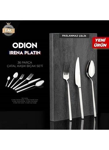 Taç Odion İrena 36 Parça Çatal Bıçak Seti Renkli